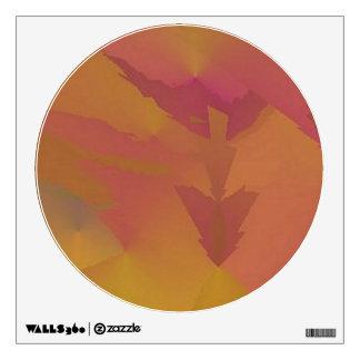 360 Custom Wall Decal Sunset Arrow Abstract Art