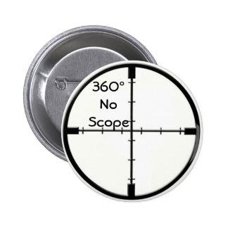 360 ningún perno del chiste del botón FPS de los r Pin