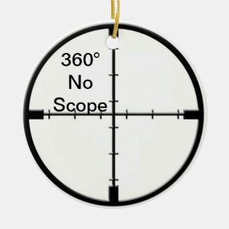 360 ningunos retículos FPS del chiste del videojue Adorno De Reyes