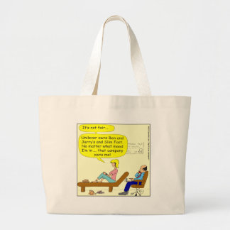 360 that company owns me Cartoon Large Tote Bag