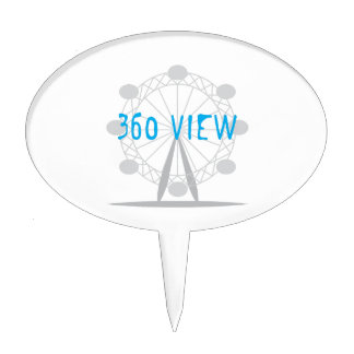 360 View Cake Topper