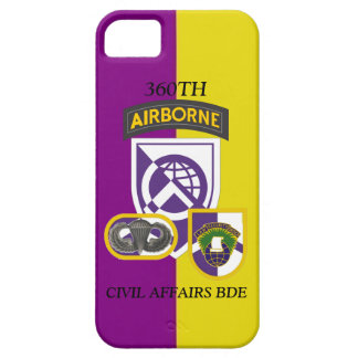 360TH CIVIL AFFAIRS BRIGADE iPHONE CASE iPhone 5 Cases