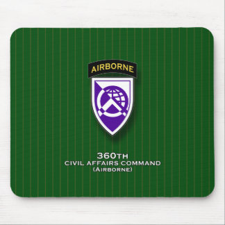 360th Civil Affairs Command - Airborne Mouse Pad