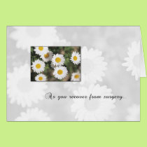 3618 Daisy Recover From Surgery Card