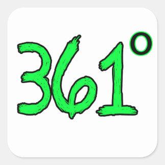 361 PEGATINA CUADRADA