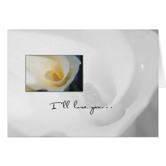 3624 Calla Lily Our Anniversary Card