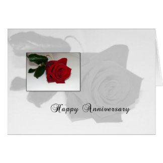 3626 Rose Anniversary Card