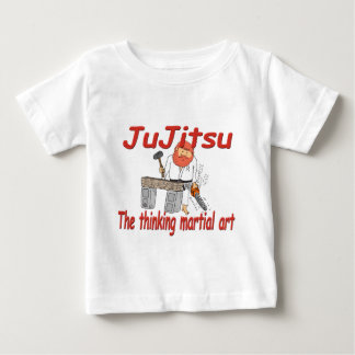 363 JuJitsu thinking martial art cartoon Baby T-Shirt