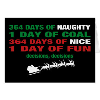 364 Days of Naughty Card