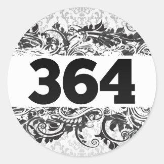 364 PEGATINA REDONDA