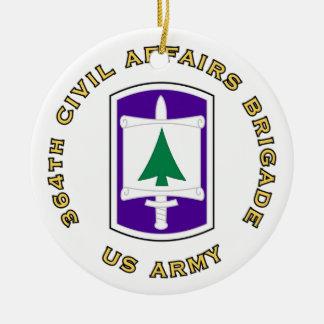 364th Civil Affairs Brigade Ceramic Ornament