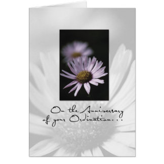 3655 Anniversary of Ordination Greeting Card