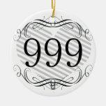 365 Area Code Christmas Tree Ornament