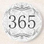 365 Area Code Drink Coaster