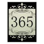 365 Area Code Poster