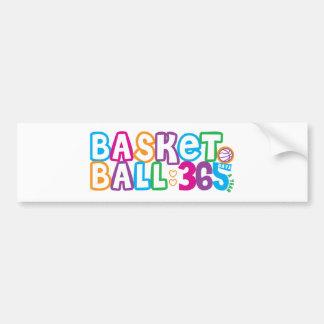 365 Basketball Bumper Sticker