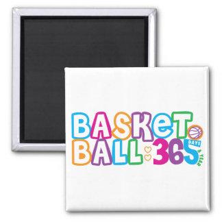 365 Basketball Refrigerator Magnet