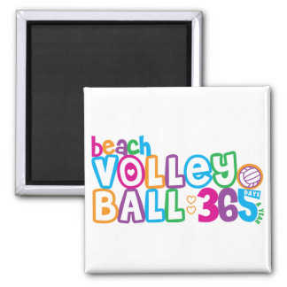365 Beach Volleyball Magnets