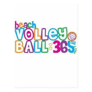365 Beach Volleyball Postcard