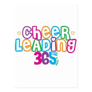 365 Cheerleading Postcard