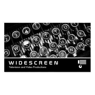 365 con pantalla grande - Máquina de escribir Tarjetas De Visita