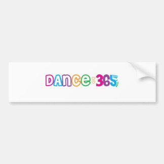 365 Dance Car Bumper Sticker