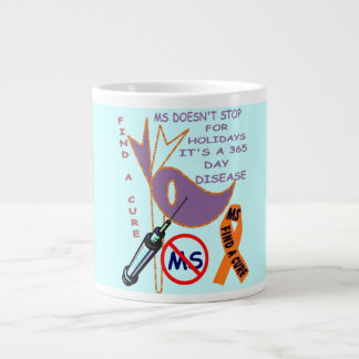 365 DAY DISEASE MS JUMBO CUP 20 OZ LARGE CERAMIC COFFEE MUG