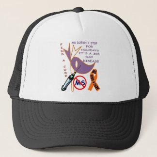 365 DAYS CURE MS TRUCKER HAT