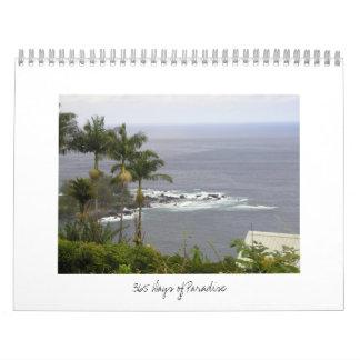 365 Days in Paradise Calendar