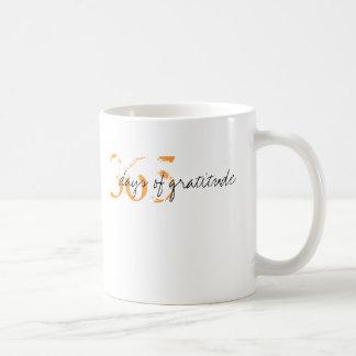 365 Days of Gratitude Classic White Coffee Mug