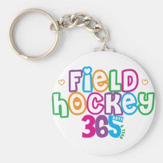 365 Field Hockey Keychain