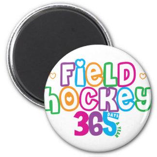 365 Field Hockey Magnet