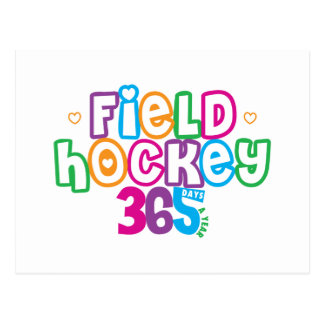 365 Field Hockey Postcard