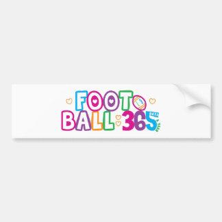 365 Football Bumper Sticker