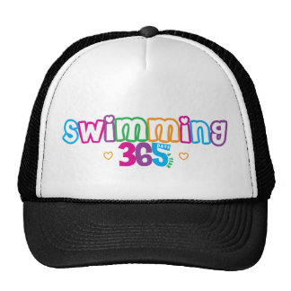 365 nadando gorro de camionero