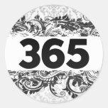 365 PEGATINAS REDONDAS