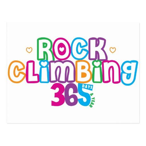 365 Rock Climbing Postcard