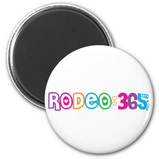365 Rodeo 2 Inch Round Magnet
