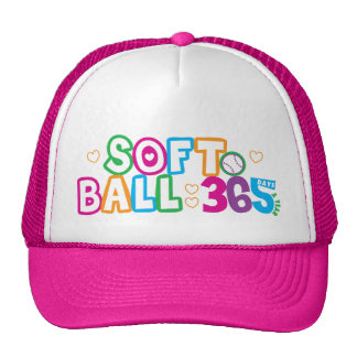 365 Softball Hats