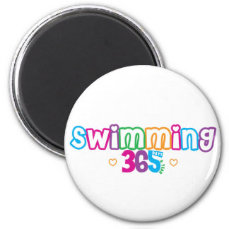 365 Swimming Magnet