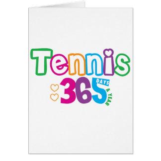 365 Tennis Greeting Cards