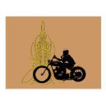 365 Vintage Rider Postcard