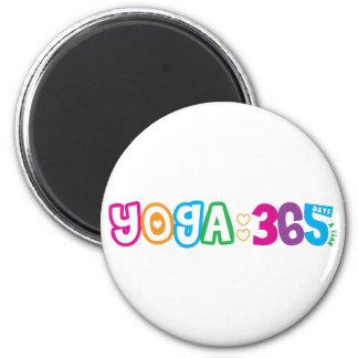 365 Yoga Magnet
