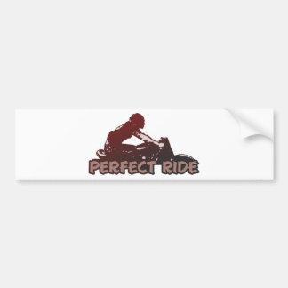 366 Perfect Ride Bumper Sticker