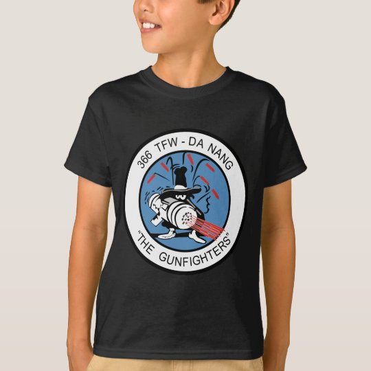 366th TFW  G un Fighter T-Shirt