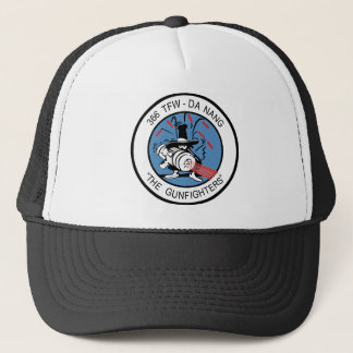 366th TFW  G un Fighter Trucker Hat