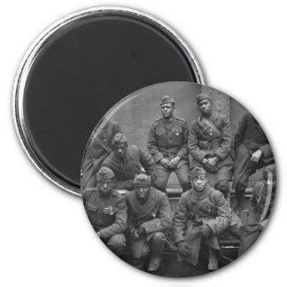 369o Guardia Nacional Harlem Hellfighters de Nueva Imán Redondo 5 Cm