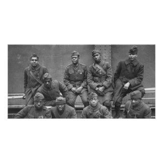 369o Guardia Nacional Harlem Hellfighters de Nueva Plantilla Para Tarjeta De Foto