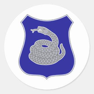 369th Infantry Regiment Round Stickers