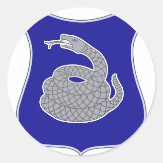 369th Infantry Regiment Round Sticker